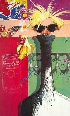 Andy Warhol born Andrew Warhola (1928–1987)