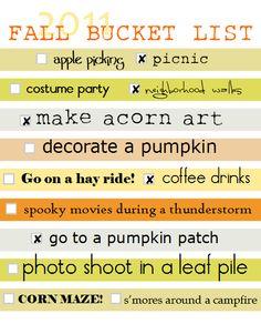 More Fall Ideas