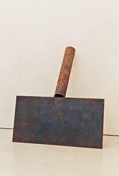 Collection Online | Richard Serra. Shovel Plate Prop. 1969 - Guggenheim Museum