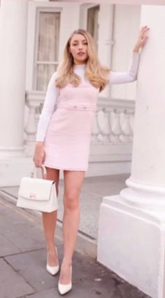 46 Popular Girly Outfit Ideas - VIs-Wed - - Source by kateinGb Girly Girl Outfits, Preppy Outfits, Girly Outfits, Classy Outfits, Stylish Outfits, Fall Outfits, Summer Outfits, Preppy Skirt, Girly Girls