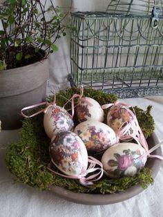 Vintage Easter Eggs Ornaments