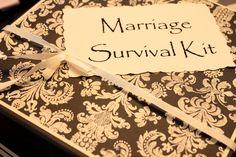 Marriage Survival Kit