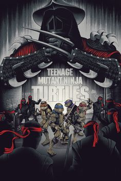 BROTHERTEDD.COM - pixalry: Teenage Mutant Ninja Turtles - Created... Geek Movies, Series Movies, Movie Synopsis, American Flag Stars, Best T Shirt Designs, Epic Movie, Beach Cover Ups, Alternative Movie Posters, Teenage Mutant Ninja Turtles