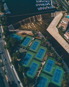 Drone Photography   From where I drone #hypecourts  Credit: @higherhand (Instagram)  #illestgrammers #photooftheday #streetdreamsmag #artofvisuals #agameoftones #wethephotographers #shoot2kill #dronephoto #aerialphoto #aerialphotography  #pylot #drones #a