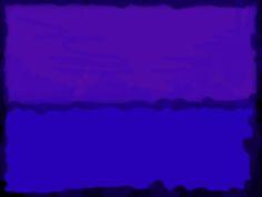 el silencio en el azul de la siesta  Rothko