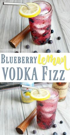 can& wait to try this refreshing Blueberry Lemon Vodka Cocktail! I can't wait to try this refreshing Blueberry Lemon Vodka Cocktail!I can't wait to try this refreshing Blueberry Lemon Vodka Cocktail! Party Drinks, Cocktail Drinks, Cocktail Recipes, Fizz Drinks, Margarita Recipes, Vodka Tonic, Cointreau Cocktail, Disaronno Cocktails, Smirnoff