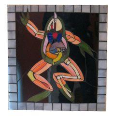 Wha Happen Mr. Toad Art Glass Mosaic