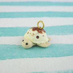 Kawaii Ice Cream Turtle Charm