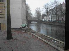 Brugge - Bruges Zicht vanuit de kelder van het stadsarchief Brugge 2010. Foto: Yvette Kemel