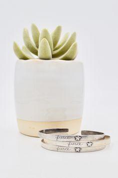 Fierce bracelet in Sterling Silver, one left! Thats Not My, My Love, Bracelets, My Boo, Charm Bracelets, Bracelet, Arm Bracelets, Bangles, Super Duo