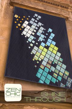 Shine through #zenchic modern #quiltpattern now available as an instant PDF-Download here  https://zenchic.dpdcart.com/cart/add?product_id=71992&method_id=74506