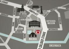 Landkarte für eine Hochzeit - Iris Luckhaus // Illustration + Design