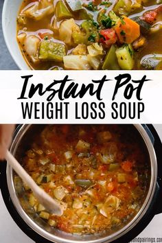 Instant Pot Weight Loss Soup is loaded with fresh vegetables. It's high in flavor yet naturally l&; Instant Pot Weight Loss Soup is loaded with fresh vegetables. It's high in flavor yet naturally l&; Jennifer Moerer […] soup for weight loss crock pot Weight Loss Meals, Weight Loss Soup, Weight Watchers Soup, Clean Eating, Healthy Eating, Cooking Recipes, Healthy Recipes, Keto Recipes, Irish Recipes