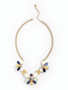 Lily Cabochon Necklace - Talbots