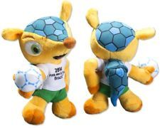FIFA World Cup Brazil 2014 (TM) Fuleco 22cm Plush Mascot Collectors