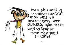 Lun humor på kort som gleder! Fra anntove.no Humor, Humour, Moon Moon, Jokes, Funny, Funny Jokes