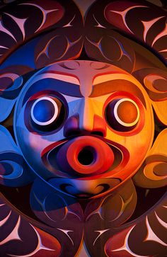 First Nations carvings and totem poles adorn Victoria. Visit the Totem Park at the Royal BC Museum for a stunning display of aboriginal art. #exploreVictoria #totempole #nativeamerican #firstnations #aboriginal | www.tourismvictoria.com