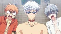 Manga Anime, Anime Guys, Anime Art, Fruits Basket Cosplay, Fruits Basket Manga, Kyo And Tohru, Yuki Sohma, Kawaii Faces, Anime Angel