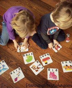 Fun Spelling Puzzles for Kids. These would be great for the classroom or at home.