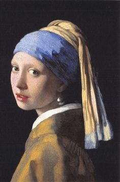 ICYMI: Fine Art Quality Postcard The Girl with a Pearl Earring Johannes Vermeer by CavalierPostcards Johannes Vermeer, Rembrandt, Girl With Pearl Earring, Famous Art Paintings, Portrait Paintings, Famous Art Pieces, Famous Portraits, The Face, Renoir