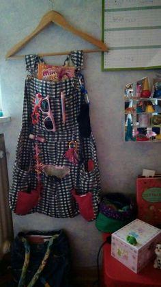 Hängeorganizer Klamotten Recycling Hose Tasche Aufbewahrung Kind