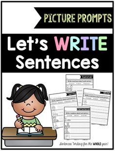 Give your students plenty of practice with writing quality sentences. This pack has picture prompts for all seasons and holidays, as well as some for any time of year. Great for morning work, homework, seat work, writing centers, and small groups.