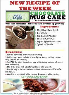 IP: Choc Mug Cake