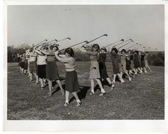 1940s women golfers
