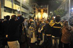 Hermandad de Nuestro Padre Jesús Atado y Flagelado en la Columna y Nuestra Señora María Santísima de las Lágrimas. Domingo de Ramos.
