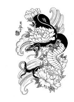 100 Japanese Tattoo Designs I By Jack Mosher Aka Horimouja - Google Search #TattooDesigns