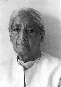 One is never afraid of the unknown; one is afraid of the known coming to an end.     ~ Jiddu Krishnamurti  (4/5/2013)