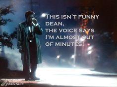 This isn't funny Dean..... - Castiel - SPN - Supernatural