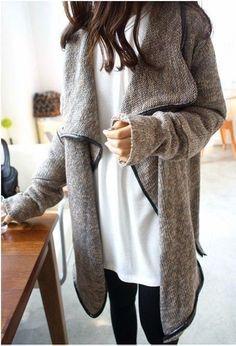 Comfy and cozy grey jardic cardigan