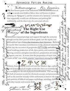 The Right use of Ingredients Potion Harry Potter, Harry Potter Props, Harry Potter Halloween, Harry Potter Theme, Harry Potter Love, Harry Potter Hogwarts, Harry Potter World, Harry Potter Activities, Harry Potter Printables