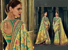South Indian Silk Saree, Royal Indian, Ethnic Outfits, Ethnic Clothes, Western Wear, Bollywood, Product Launch, Sari, Glamour