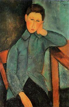 The Boy, 1918 Amedeo Modigliani
