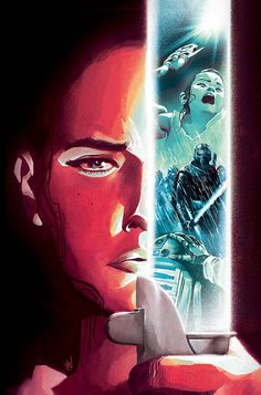 The Cover to Issue 4 of The Force Awakens' Comic Book Adaptation by Mike Del Mundo