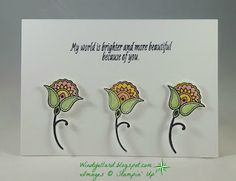 Windy's Wonderful Creations: #GDP049 Brighter and More Beautiful!, Stampin' Up!, Paisleys & Posies, Paisleys framelits dies