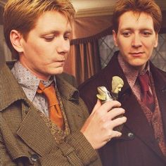 harry potter, weasley twins, they were one of my favorite parts of the whole thing.