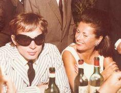 Rudolf Nureyev and Princess Irene Galitzine 1960