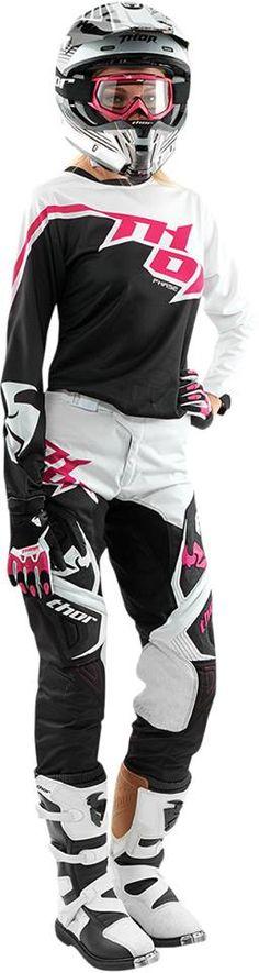 New motocross gear for women! http://bit.ly/thor15