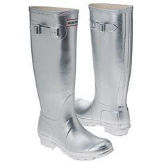 Hunter Boot Hunter Original Boots (Silver) - Women's Boots | $118.75 | Free Shipping