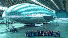 The Return of the Airship: Best photo of Aeroscraft Prototype