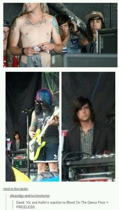 Kellin looks so confused I'm laughing so hard
