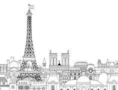 coloriage paris