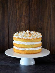 Lemon Meringue Cake - Laura's Bakery