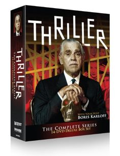 Thriller: The Complete Series DVD ~ Boris Karloff,