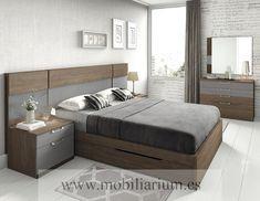 Dormitorios Modernos Lanmobel - Composición 17 Cabecero Neru - Catálogo Muse - Mobiliarium