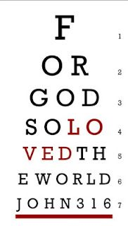 Christian eyechart