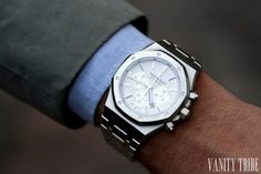Audemars Piguet Royal Oak Chronograph #VanityTribe